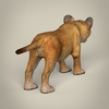 16 41 11 193 realistic low poly baby lion 05 4