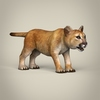 16 41 15 113 realistic low poly baby lion 06 4