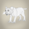 16 41 18 73 realistic low poly baby lion 08 4