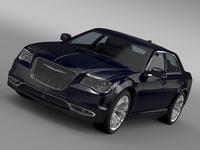 Chrysler 300C Platinum AWD LX2 2016 3D Model