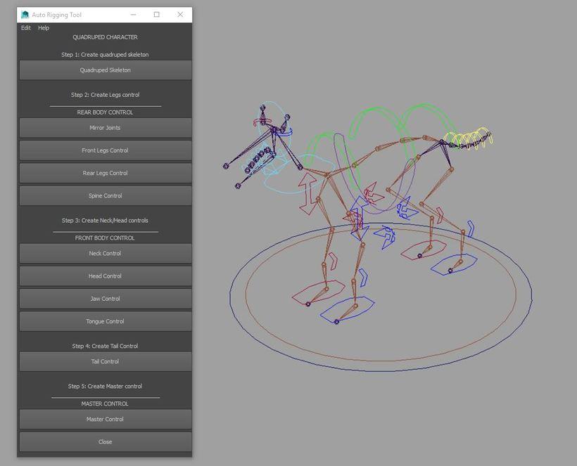 Q_Rig Tool for Maya