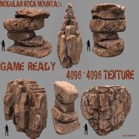 Rock_Set_11 3D Model