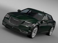 Chrysler 300C Platinum LX2 2016 3D Model