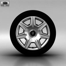 Rolls-Royce Ghost Wheel 20 inch 001 3D Model