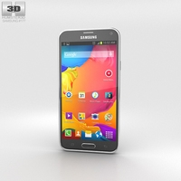 Samsung Galaxy S5 LTE-A Charcoal Black 3D Model