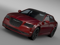 Chrysler 300S LX2 2016 3D Model