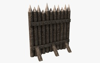 Stockade construction kit 3D Model