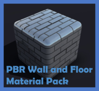 Physically Based Wall and Floor Materials Pack