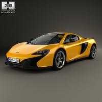 McLaren 650S Spider 2015 3D Model
