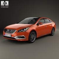 Hyundai Sonata (US) 2015 3D Model