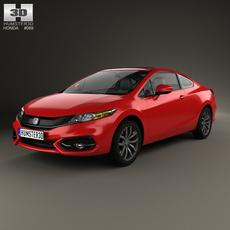 Honda Civic coupe 2014 3D Model