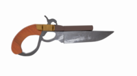 Knife Gun Repro 3D Model