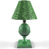 malachite lamp table 3D Model
