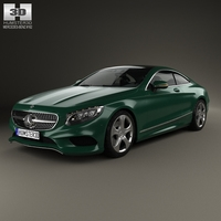 Mercedes-Benz S-Class (C217) coupe 2014 3D Model