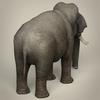 17 07 01 166 low poly realistic elephant 05 4