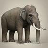 17 07 05 707 low poly realistic elephant 06 4