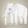 17 07 11 783 low poly realistic elephant 08 4