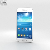 Samsung Galaxy S4 Mini White Frost 3D Model