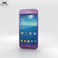 Samsung Galaxy S4 Mini Purple 3D Model