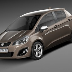 Generic Hatchback 5-door 2016 3D Model