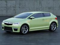 Acura Sportback Concept A1 3D Model