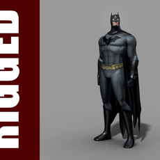 Batman (Rig) 1.0.1 for Maya