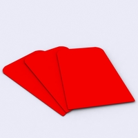 Free Red Envelope Gift 3D Model