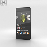 Amazon Fire Phone 3D Model