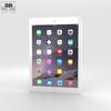 Apple iPad Air 2 Silver 3D Model