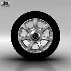 Rolls-Royce Phantom Wheel 21 inch 002 3D Model