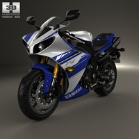 Yamaha R1 3D Model