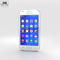 Samsung Galaxy Ace Style Cream White 3D Model