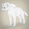 17 37 53 535 low poly realistic hyena 08 4
