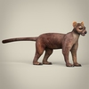 17 37 55 988 low poly realistic fossa 06 4