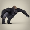 17 38 04 590 low poly realistic gorilla 06 4