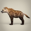 17 38 07 962 low poly realistic hyena 03 4