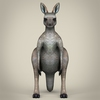 17 38 22 553 low poly realistic kangaroo 02 4