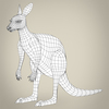 17 38 32 317 low poly realistic kangaroo 08 4