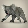 17 38 34 500 low poly realistic koala 01 4