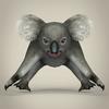 17 38 35 967 low poly realistic koala 02 4