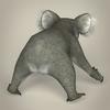 17 38 39 32 low poly realistic koala 05 4