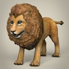 17 38 42 120 low poly realistic lion 01 4
