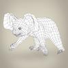 17 38 43 30 low poly realistic koala 08 4
