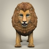 17 38 45 989 low poly realistic lion 02 4