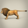 17 38 48 193 low poly realistic lion 03 4