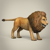17 38 52 245 low poly realistic lion 06 4