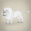 17 38 54 462 low poly realistic lion 08 4
