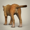 17 38 57 610 low poly realistic mountain lion 04 4