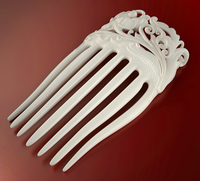 Flower hair comb (printable) 3D Model