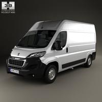 Peugeot Boxer L2H2 2014 3D Model